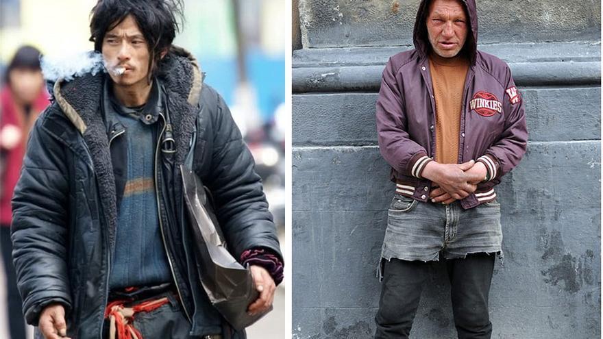 Cheng Guorong y Slavik, dos estrellas del street fashion que, además, no tienen casa