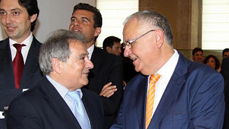 Alfonso Rus y Juan Cotino.