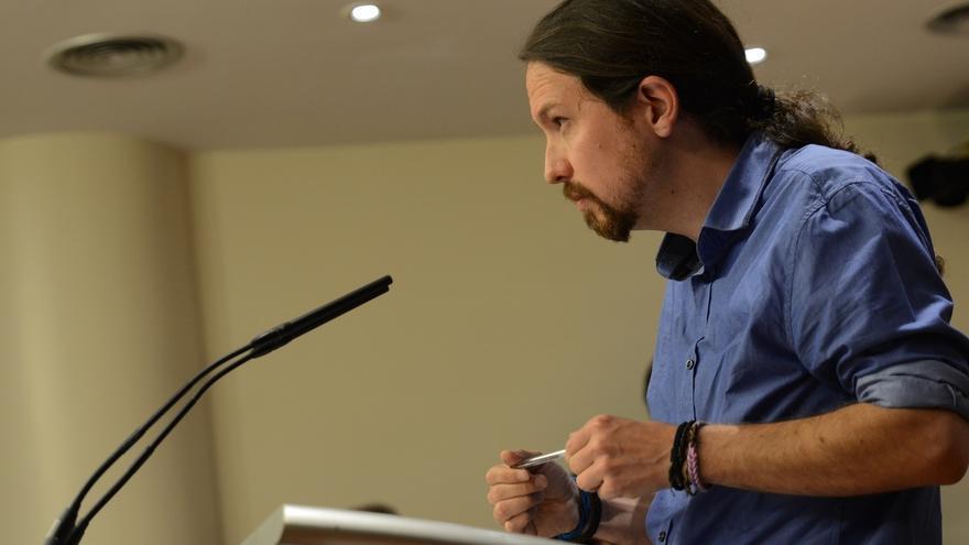 Pablo Iglesias rectifica y dice que confía plenamente en el buen desarrollo de las votaciones y el recuento