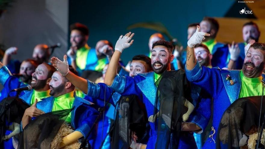 Zeta Zetas, los primeros en el concurso de murgas adultas 2017, en Interpretación