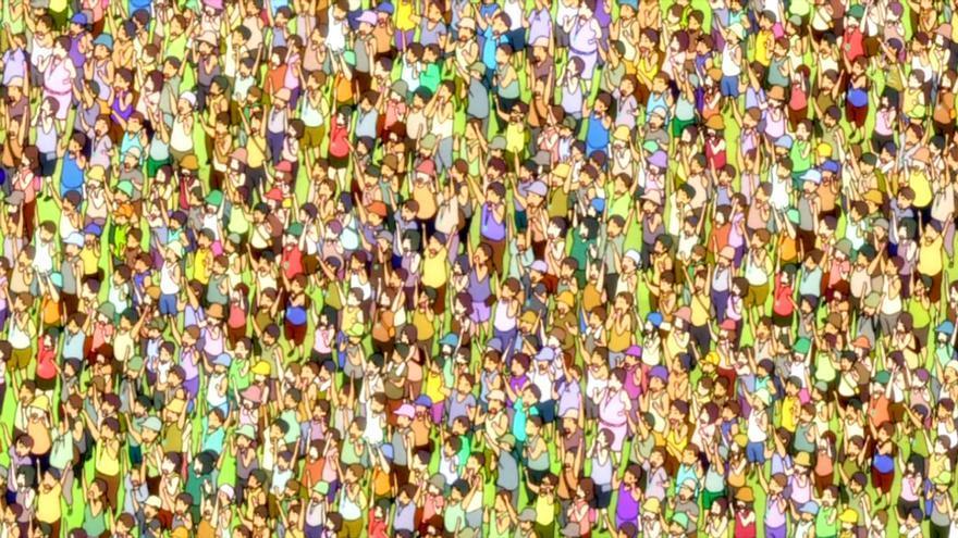 Puedes buscar a Wally o podemos pensar qué los hace vivir en común.