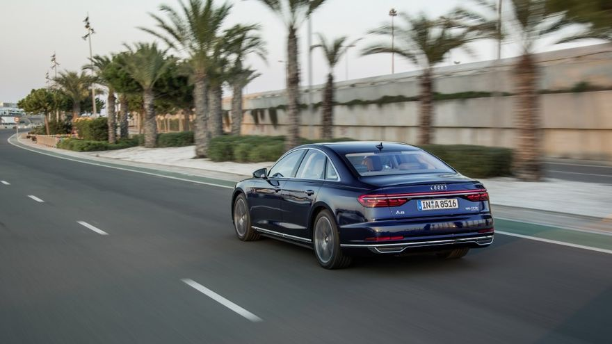El nuevo Audi A8 incluye el Traffic Jam Pilot, que supone un nivel 3 de conducción autónoma.