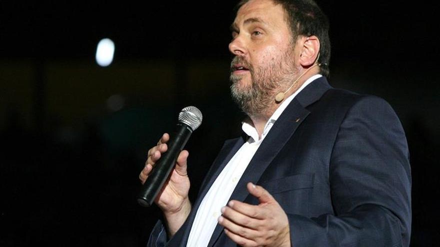 """Junqueras acusa al Gobierno de buscar """"colapso"""" de todas las administraciones"""