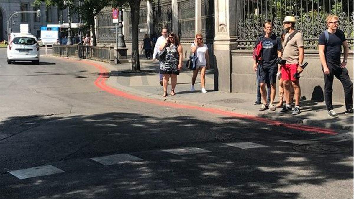 Carril del Paseo de Recoletos que se convertirá en espacio Peatonal | SOMOS CHUECA
