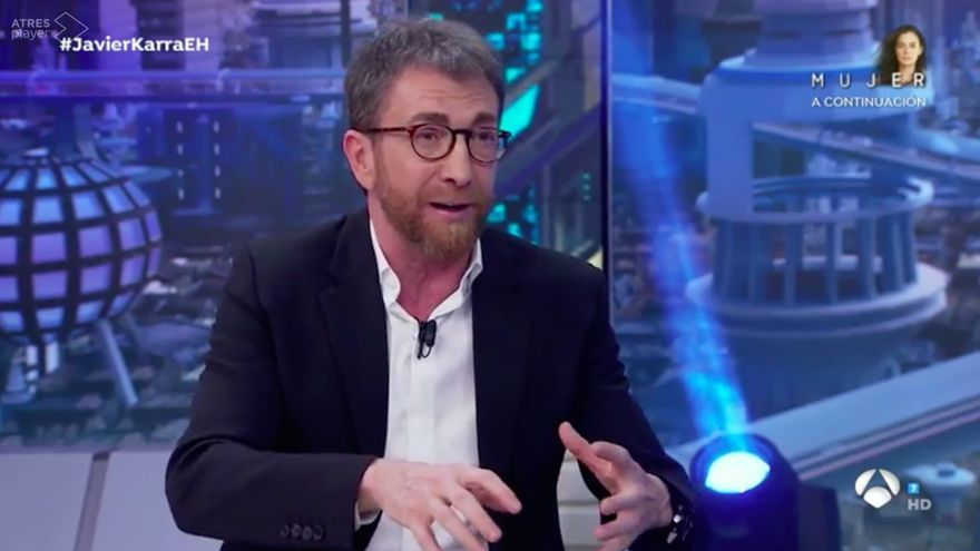 Pablo Motos, en 'El Hormiguero' con Elejalde y Gutiérrez