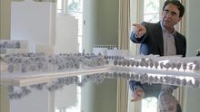 El arquitecto valenciano Santiago Calatrava, autor del proyecto de la Ciudad de las Artes y las Ciencias