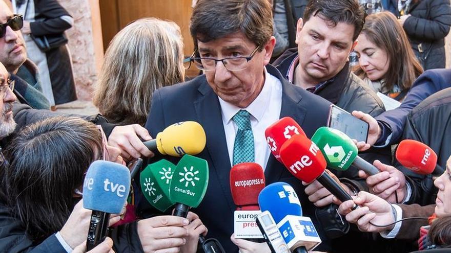 """Marín pide a Vox que se decida: """"¿Quiere ir a elecciones? Que lo haga"""""""