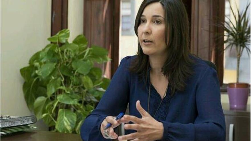 Mónica Martín, vicesecretaria de los socialistas laguneros.