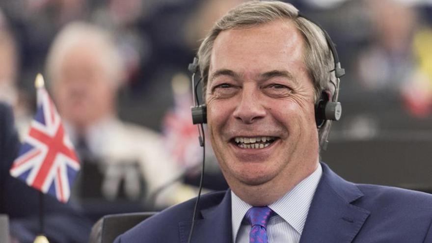 El exlíder del UKIP Nigel Farage descarta concurrir a las elecciones británicas
