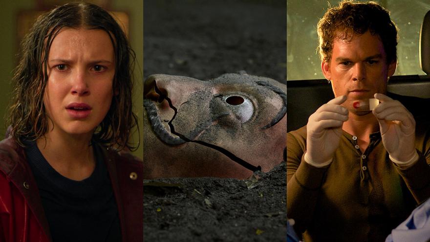 'Stranger Things', 'La casa de papel' y 'Dexter'