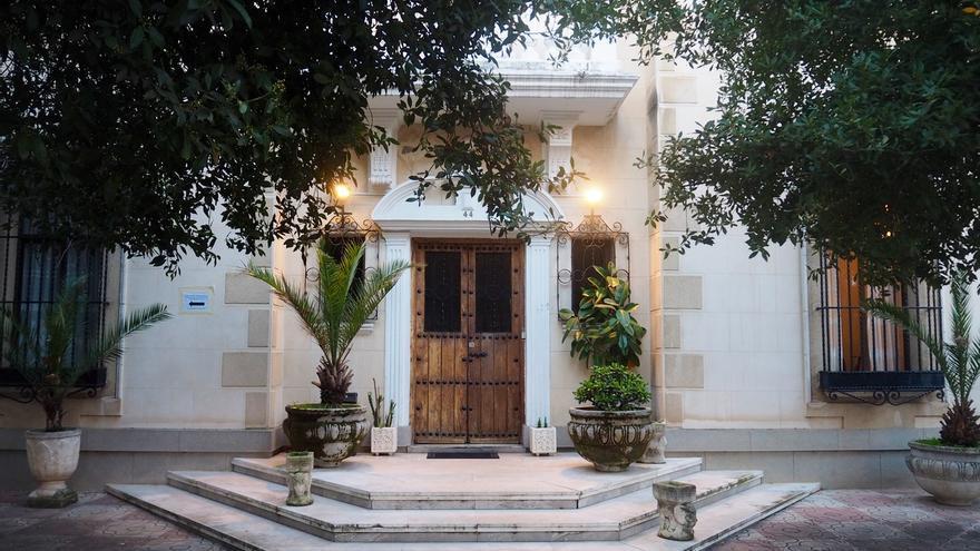 Uno de los palacetes de Bellas Vistas