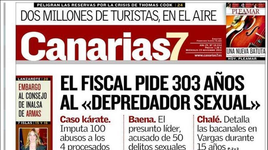 De las portadas del día (23/11/2011) #2