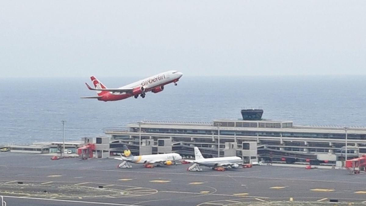 Imagen de archivo del Aeropuerto de La Palma