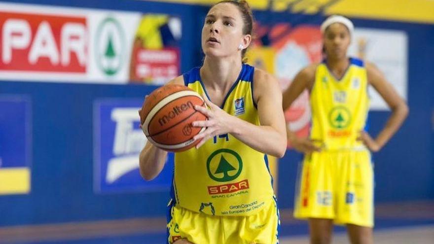 La cantera grancanaria de baloncesto femenino sigue dando frutos.