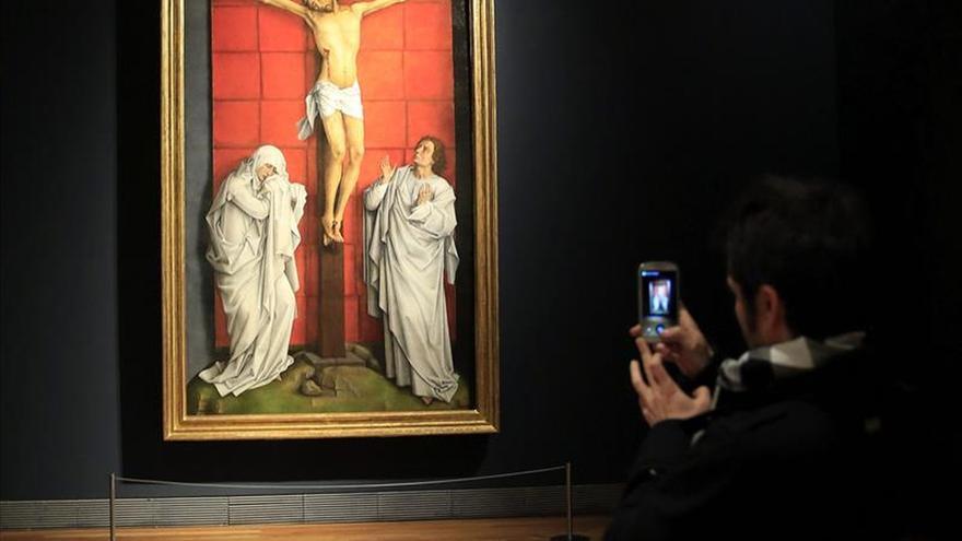 """""""El Calvario"""", ejemplo de la búsqueda de la belleza esencial de Van der Weyden"""