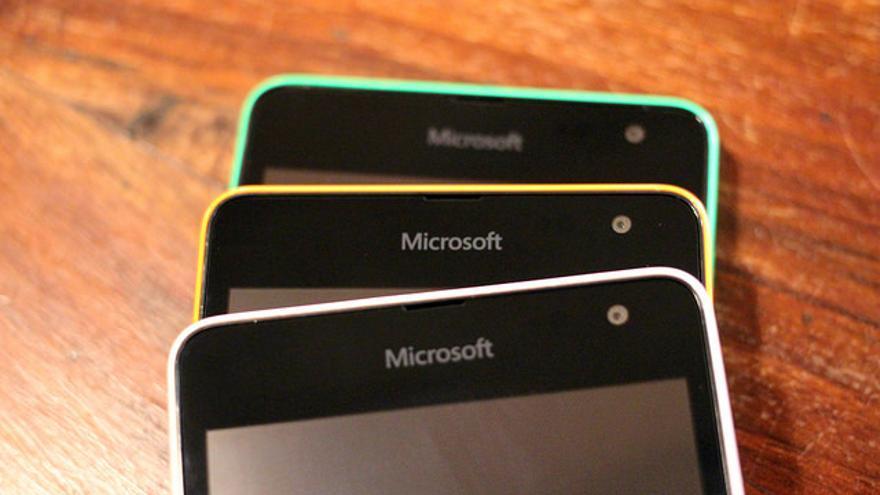 Teléfonos Microsoft Foto: Maurizio Pesce / Flickr