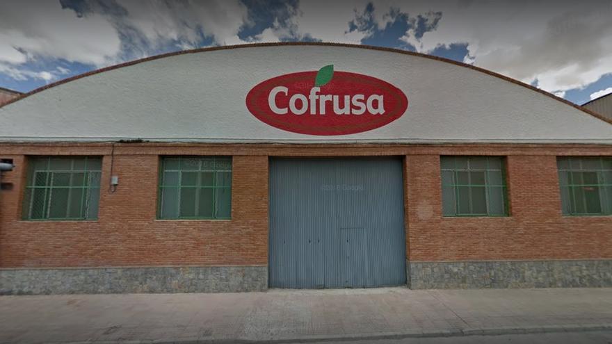 La empresa de frutas y conservas Cofrusa en Mula