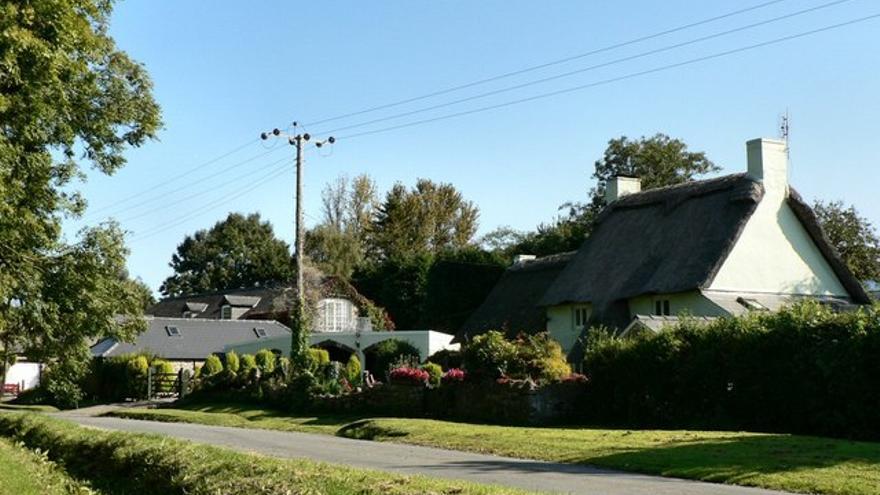 Imagen del municipio de Dyffryn, en Vale of Glamorgan (Gales)