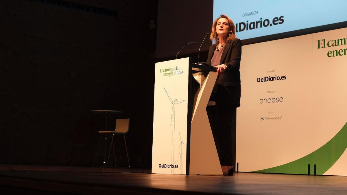 Teresa Ribera inaugura 'El camino a la energía limpia', una jornada para hablar de transición energética