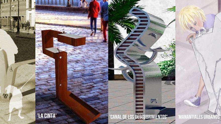 Las cuatro fuentes finalistas para Sevilla