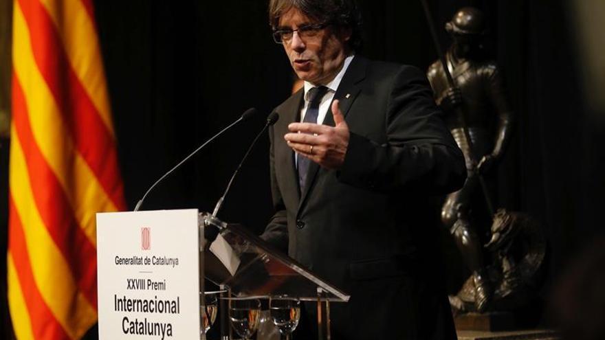 """Puigdemont ve """"cinismo"""" en la oferta de revisar el sistema de financiación"""