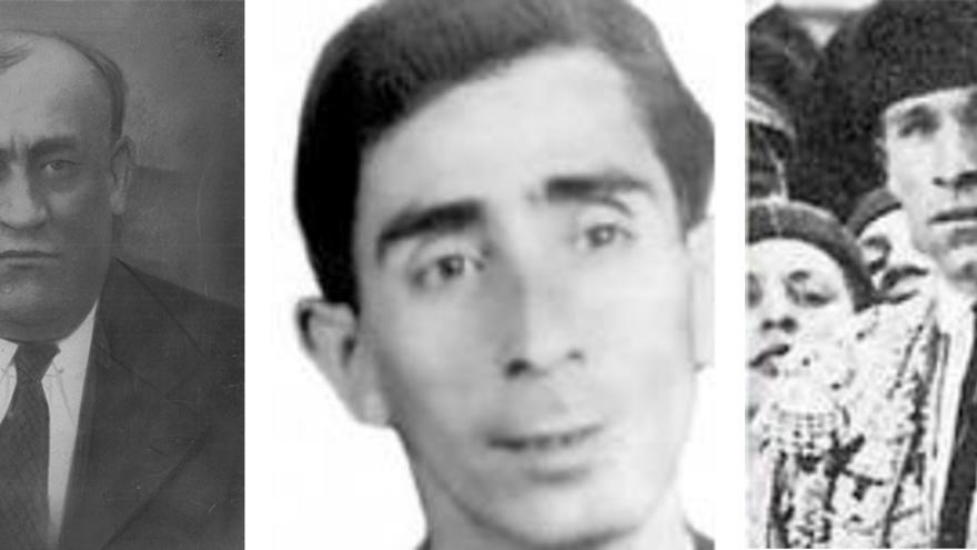 Dióscoro Galindo, Francisco Galadí y Joaquín -o Juan- Arcollas.