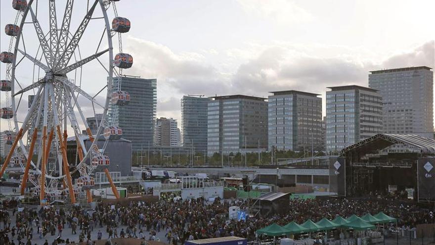 Unas 170.000 personas asisten al Primavera Sound, 20.000 más que en 2012