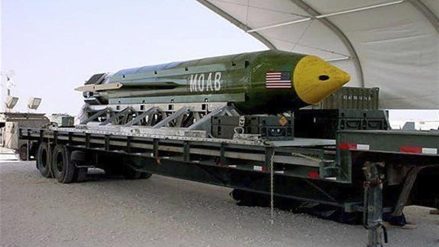 Al menos 36 miembros del EI han muerto por el impacto de la bomba GBU-43 en Afganistán