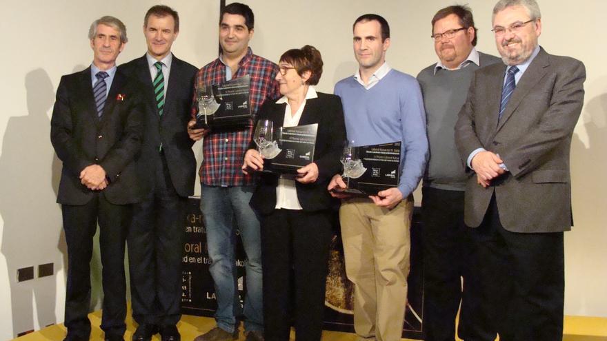 Los bares Barrukoa y Ramona y el restaurante Zarate, IV Premios Laboral Kutxa a la Profesionalidad con el Txakoli