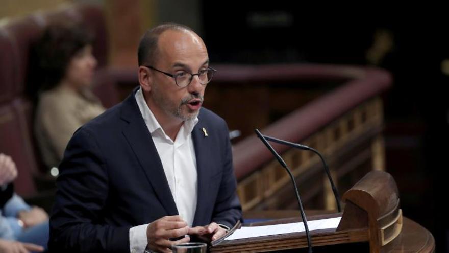 """El PDeCAT confirma su apoyo a la moción de Sánchez """"desde la discrepancia"""""""