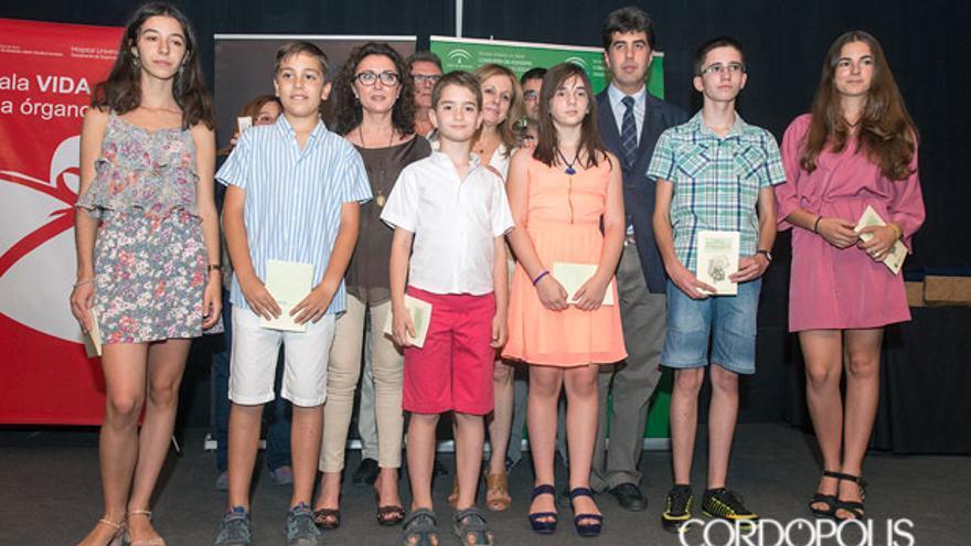 Ganadores del concurso de poesía para la donación   TONI BLANCO