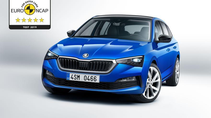 En la categoría de Protección de Ocupantes Adultos, el espacioso modelo compacto de Škoda recibió una puntuación de un 97% de todos los puntos posibles