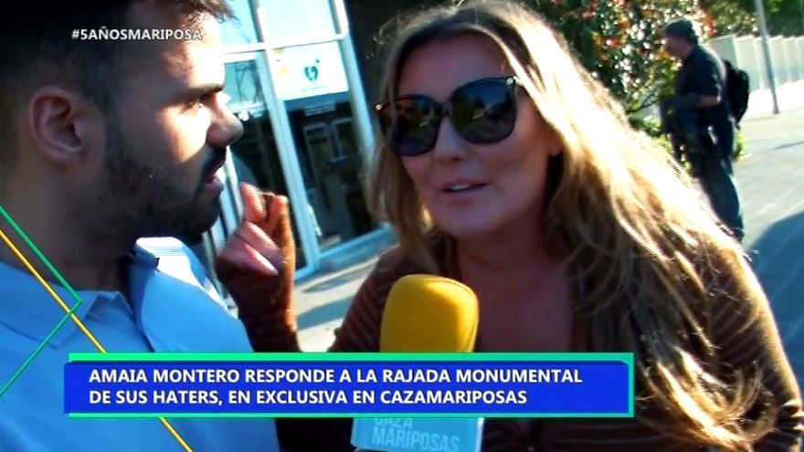 Amaia Montero se defiende en Cazamariposas de las críticas