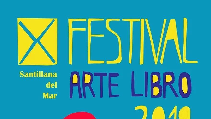 Cartel X Festival Arte Libro