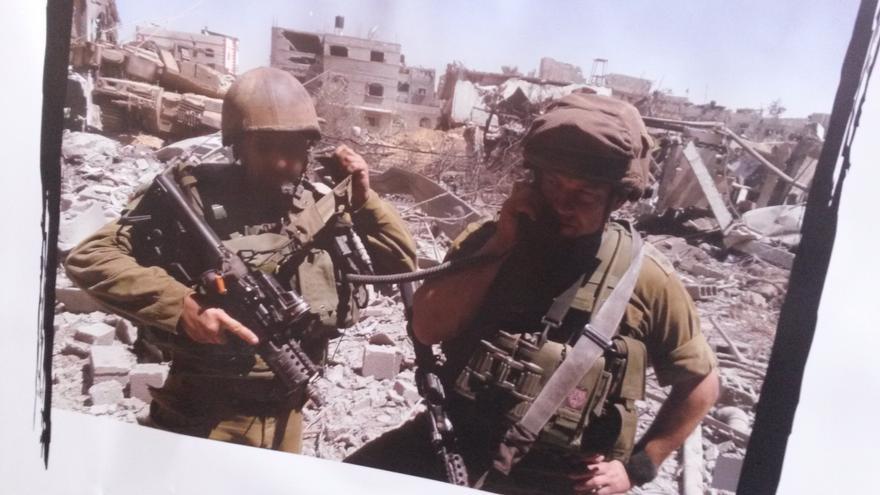 Soldados israelíes han acudido a la organización Breaking the Silence para denunciar los crímenes que cometieron en la operación 'Margen Protector'. / Ana Garralda.