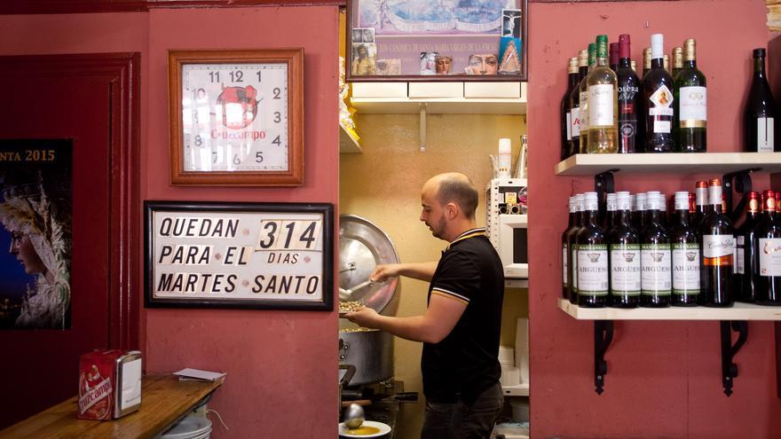 Temporada de caracoles en Sevilla