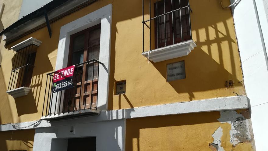 Una inmobiliaria pone el cartel de 'se vende' a la casa natal de Velázquez en Sevilla