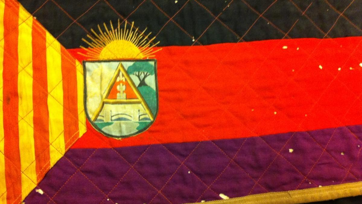 Bandera oficial del Consejo de Aragón.