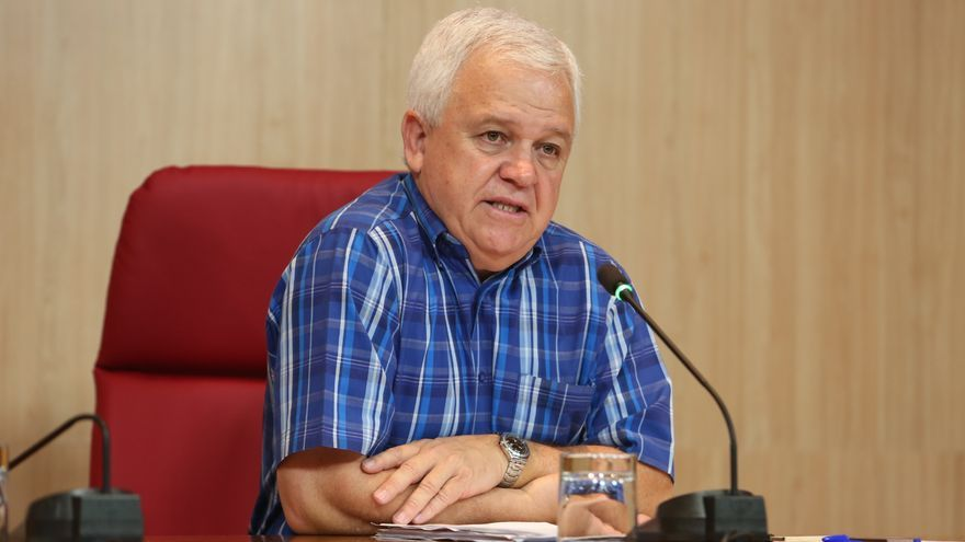 El secretario de organización de Nueva Canarias (NC) Carmelo Ramírez (ALEJANDRO RAMOS)