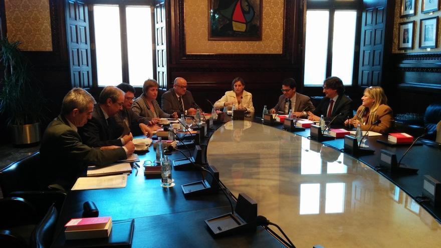 El Parlamento catalán presentará alegaciones al TC por suspender la resolución independentista