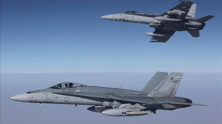 Aviones australianos inician operaciones de combate contra el EI en Siria