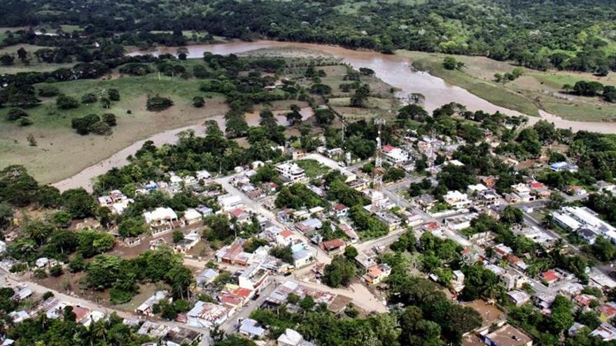Las inundaciones siguen causado daños en República Dominicana tras el paso del huracán María
