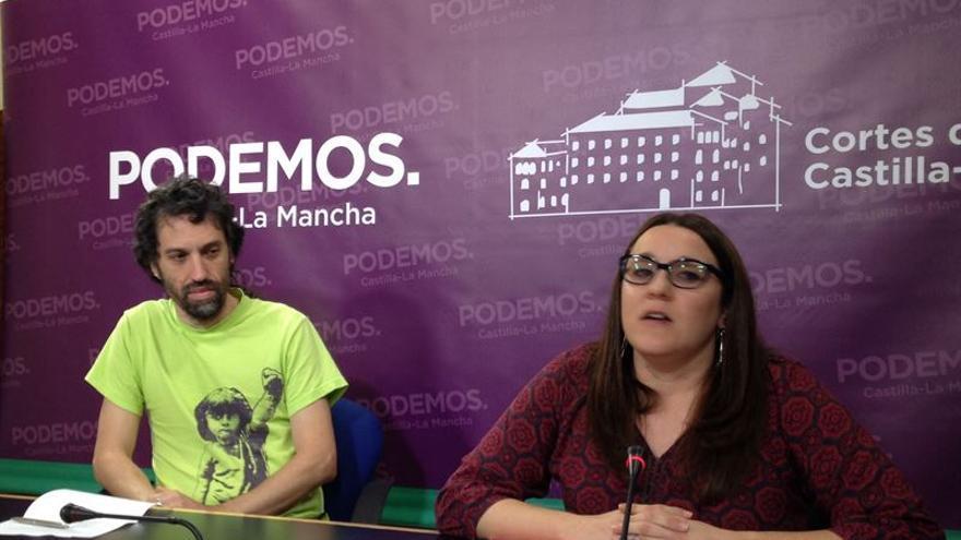 Mario Magán y María Díaz, Podemos / EUROPA PRESS