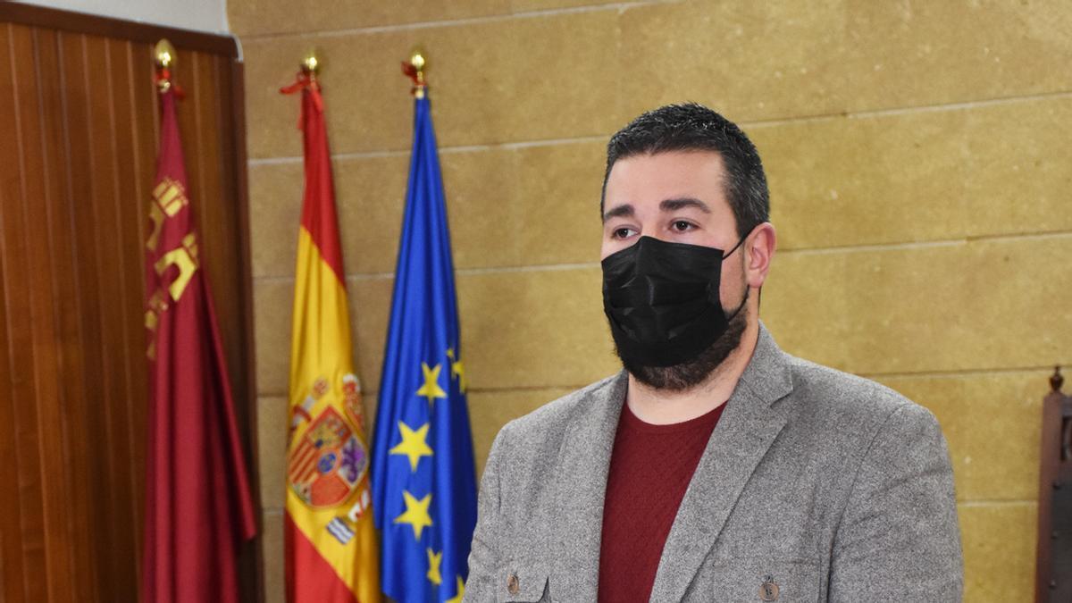 El concejal de Hacienda de Calasparra, Antonio Merino