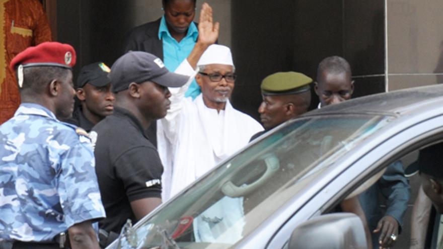 Hissène Habré arrestado en 2013 en Dakar