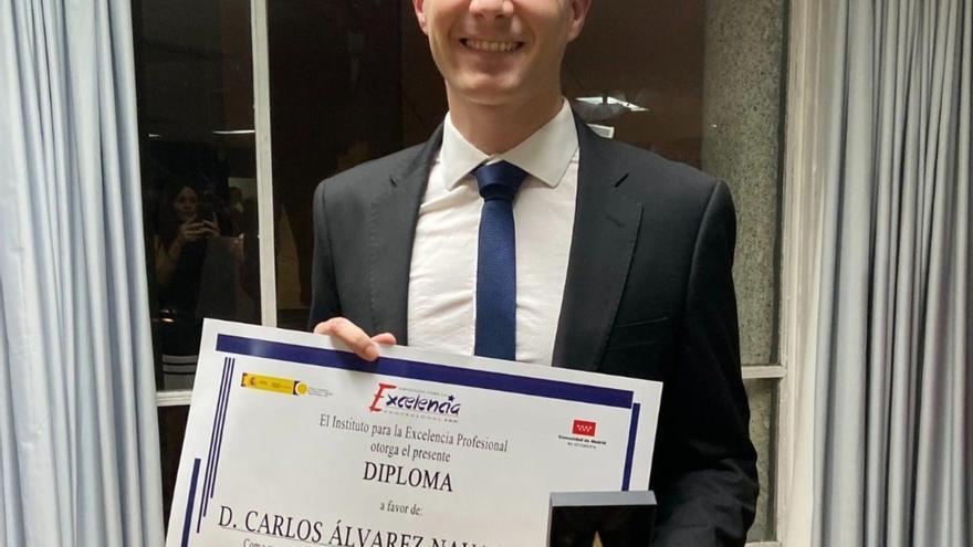 COMUNICACIÓN: Joven empresario de Granada recibe la Estrella de Oro a la Excelencia Profesional 2019