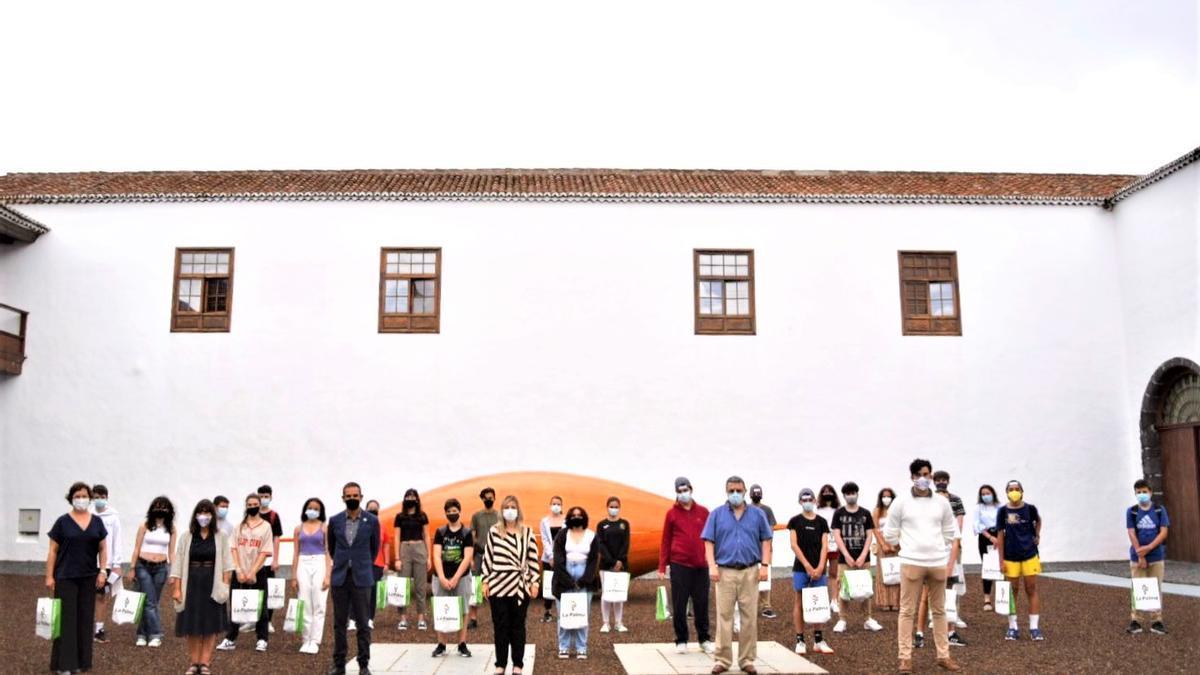 Entrega de los premios en el Convento de San Francisco.