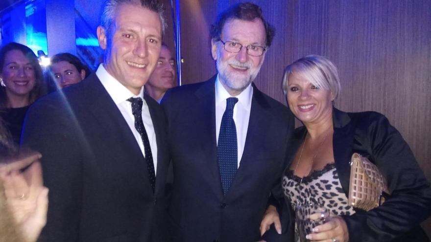 Rajoy, este viernes, durante la inauguración del Hotel Iberostars Torre Sevilla.