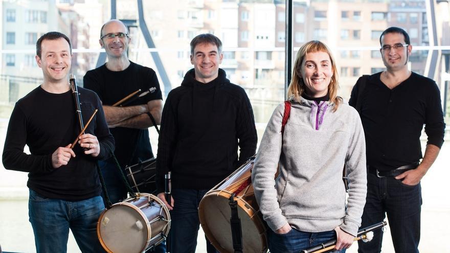 La Banda de Txistularis de Bilbao actuará gratis este lunes en el Euskalduna con alumnos del conservatorio de Navarra