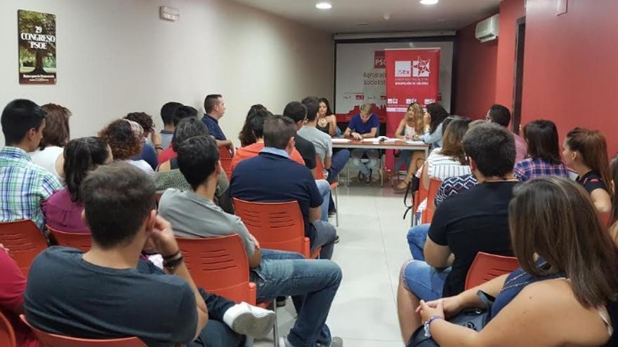 Convocatoria extraordinaria del Comité Provincial de Juventudes Socialistas de Cáceres